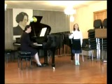Неаполитанская народная песня «Санта Лючия», «Хуторок» исп. Астахова Севастиана (вокал, 9 лет)